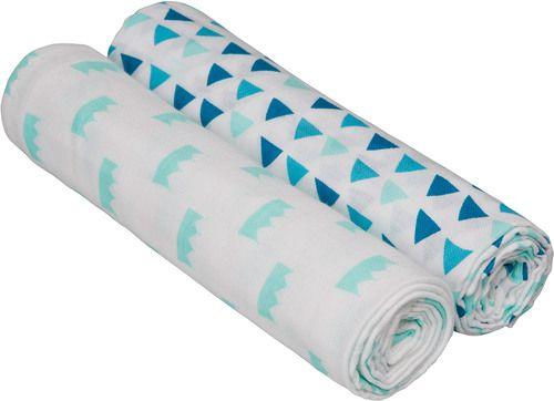 Lässig Swaddle & Burp Blanket Little King & Queen Mulltücher »  Puckdecke - Jetzt online kaufen | windeln.de