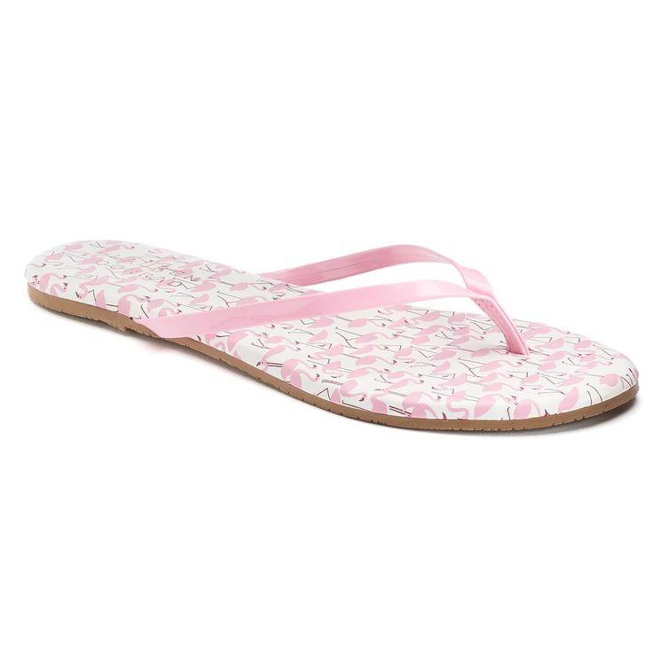 LC Lauren Conrad Pixii Women's Flip Flops, Size: 10, Multicolor