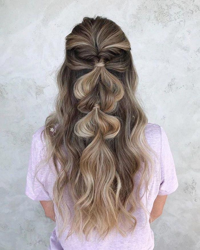 Effortlessly Cool Half Up Dos Ideal For Hot Days Pull Off Braid