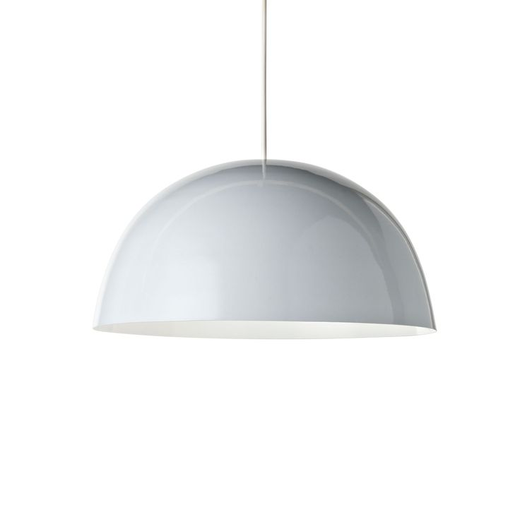 Colours Cupola White Light Shade (D)45cm