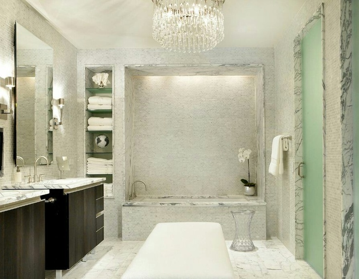 Love The Colors Gorgeous Bathroom