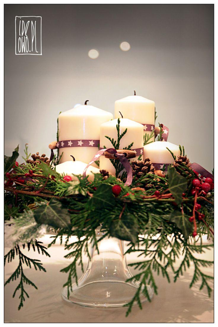 x-mas wreath | stroik świąteczny