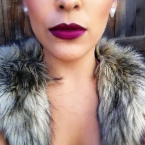 matte berry lips