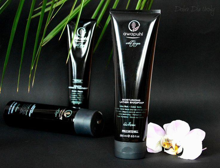 Paul Mitchell Awapuhi Wild Ginger - luksusowy szampon do włosów z kompleksem Kera-Triplex