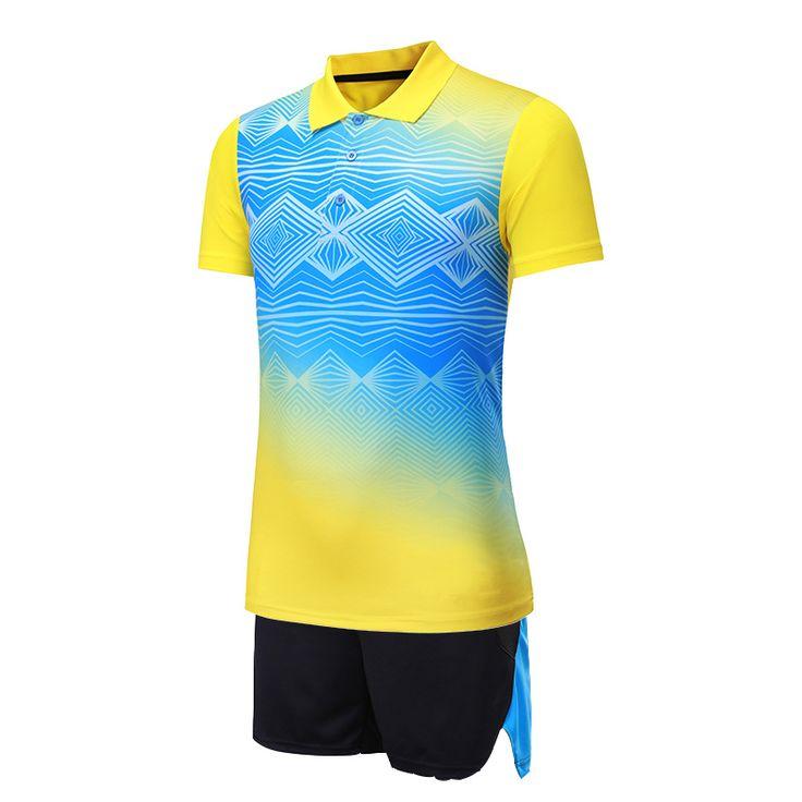 summer outfits men 2017-2018 new badminton jersey