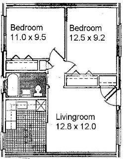 Perfect Small Two Bedroom Apartment Floor Plans   Google Search Part 31