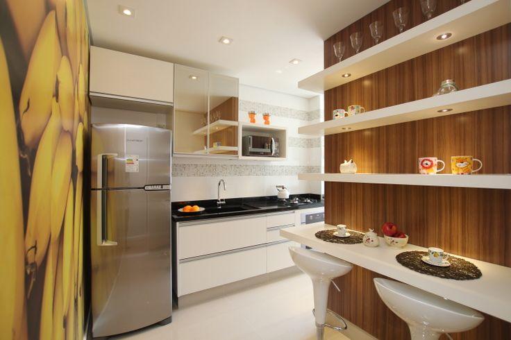 Cozinha  projeto de www.priciladalzochio.com.br
