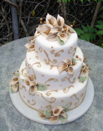 lily wedding cakes on pinterest cake ideas the flowers and squares