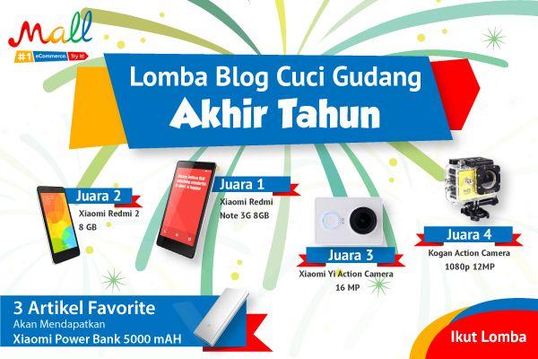 Lomba Blog Cuci Gudang Akhir Tahun MatahariMall.com