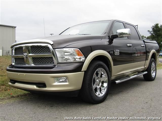 2011 Dodge Ram 1500 Laramie Longhorn 4X4 Loaded Crew Cab Short Bed $21,995  - View more information and inventory at www.davis4x4.com