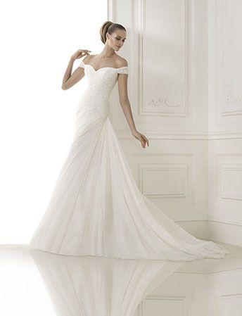 Browse our Pronovias #wedding #dress collection  #BridebySwarbricks