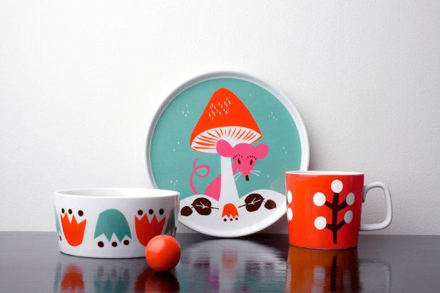 Little Wonders Tableware by Darling Clementine