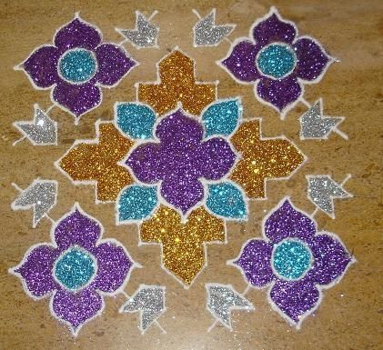 Rangoli : Diwali decor