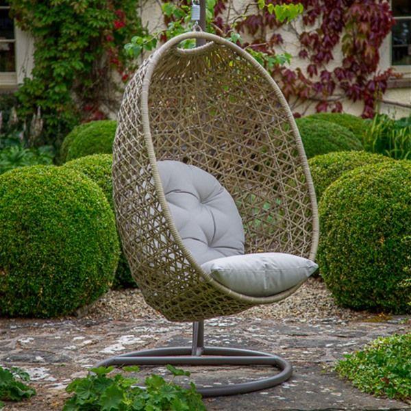 Bramblecrest Cotswold Single Cocoon Garden Swing Chair | Internet Gardener