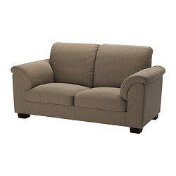 TIDAFORS 2er-Sofa - Hensta hellbraun - IKEA | €399,00