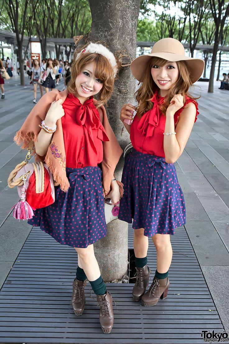 Tokyo Street Fashion - twins!
