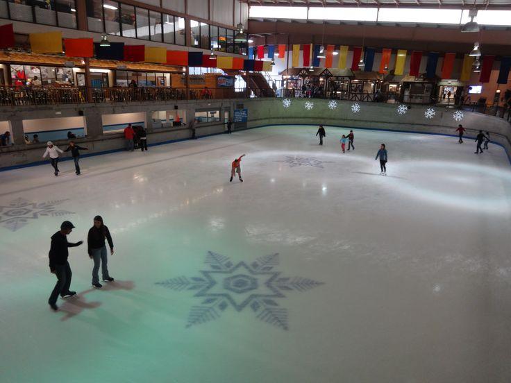 Gatlinburg Attraction, Ski Resort & Amusement Park, Gatlinburg, TN- We went ice skating! :)