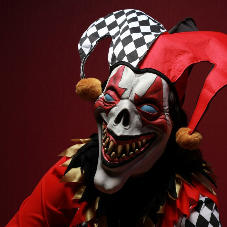 Scary Evil Clowns | Scary Clown Masks (10 Pictures)
