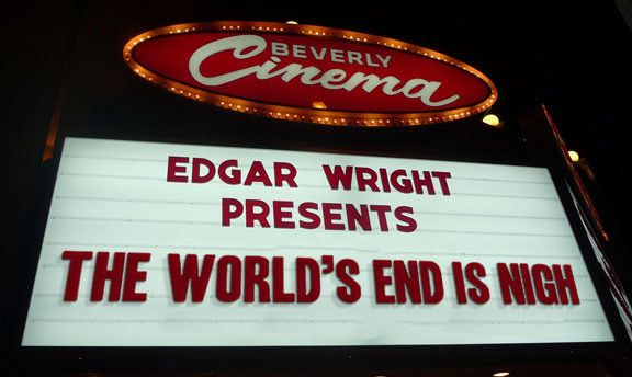 The Wright Stuff' at LA's fabulous New Beverly Cinema  Double Bill's chosen by Edgar Wright