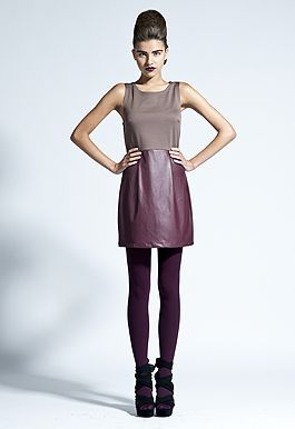 James Nader Fashion Photography / perfect plum and leather