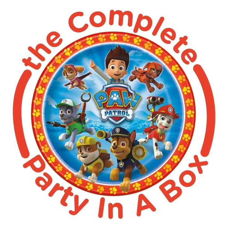 PAW Patrol Party in a Box | www.birthdaypartykidz.com #birthday #party #decorations  #Supplies