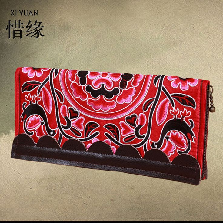 XIYUAN BRAND Womens Zipper Wallets 100% Genuine Cow Leather Ladies Purses Coin Pocket Red Long Wallet Female Clutch Bag For gift