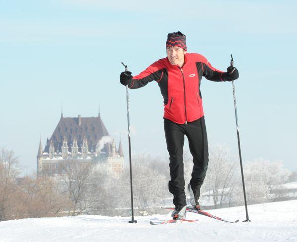 Ski de fond ou raquette sur les plaines.
