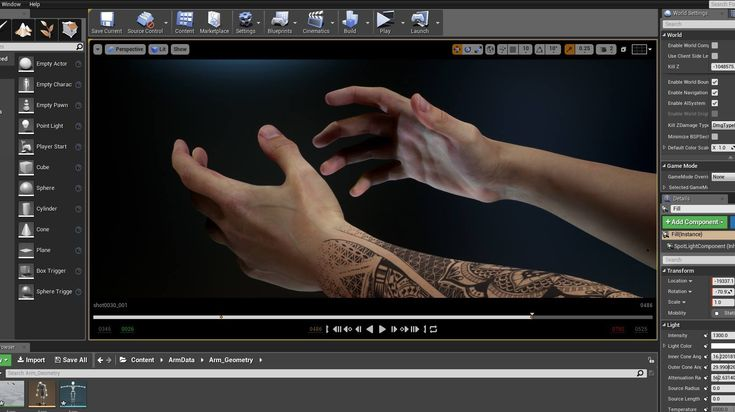 Markerless Motion Capture for Hands