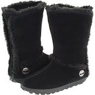 Timberland Mukluk Pull-On Faux-Fur Boot Black