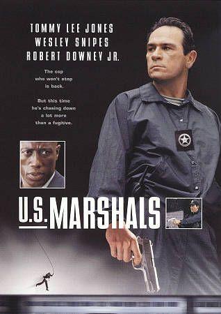 U.S. Marshals (DVD) Wesley Snipes, Tommy Lee Jones, Robert Downey Jr. used