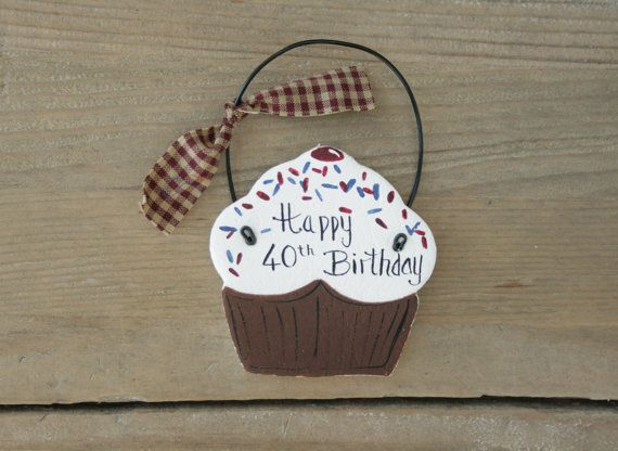 Personalised Cupcake Birthday gift Birthday party by BRsaltycandy