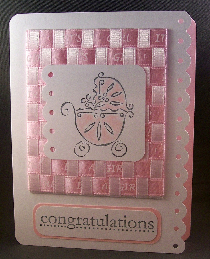 53 best Baby cards images on Pinterest Baby cards, Homemade cards
