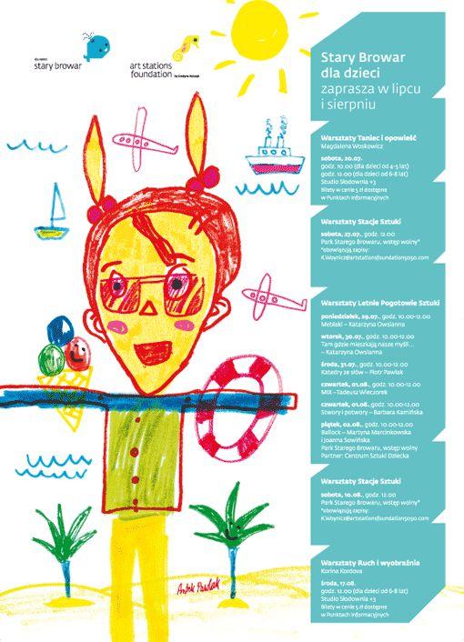 Stary Browar dla Dzieci: lipiec - sierpień 2013