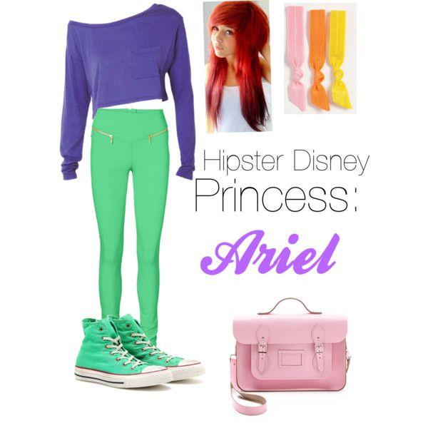 Hipster Disney princess: Ariel