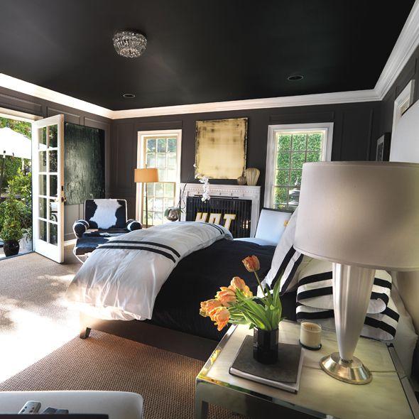 ORIGINAL Y ATREVIDO 10 razones para pintar el techo de negro