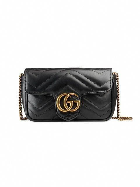 3212c9a3dec4 Gucci GG Marmont Matelassé Leather Super Mini Bag - Farfetch  Guccihandbags