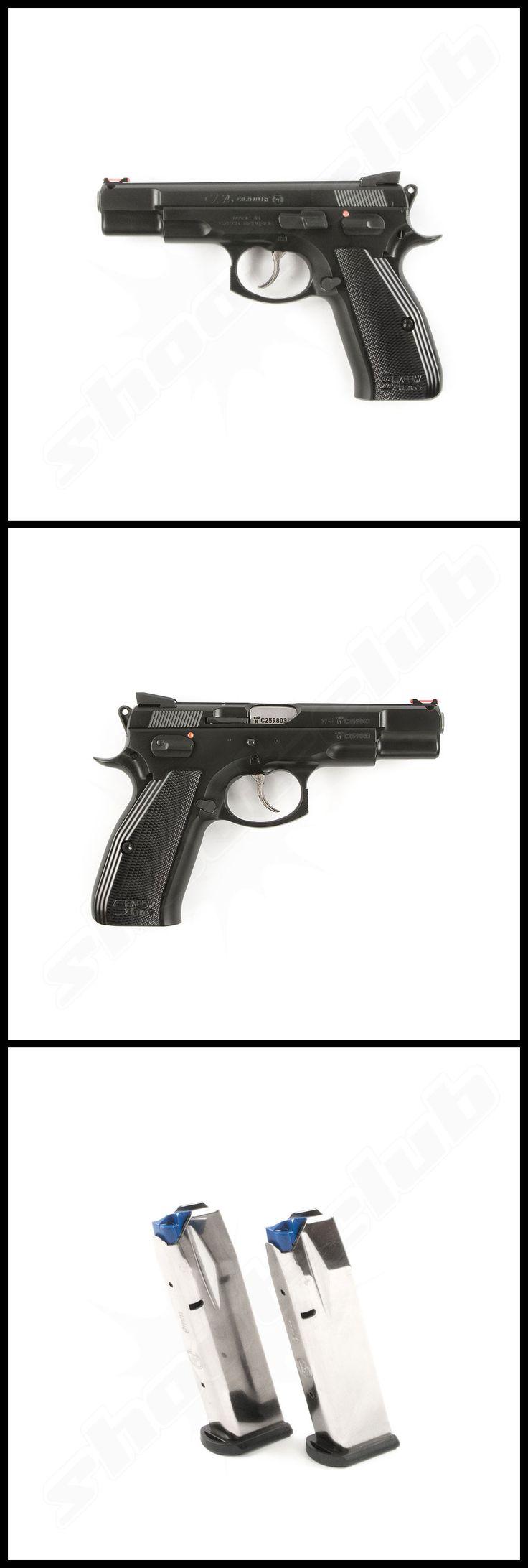 CZ 75 Shadow Line im Kaliber 9mm Luger    www.shoot-club.de