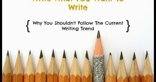 I've been noticing that there is always a trend in the fiction writing circle. Very observant of me, I know. It changes randomly throug...