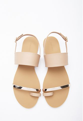 Faux Leather Toe Sandal | FOREVER21