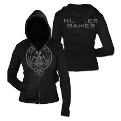 District 12 Jr. Hoodie > Official Merchandise > The Hunger Games    Cute