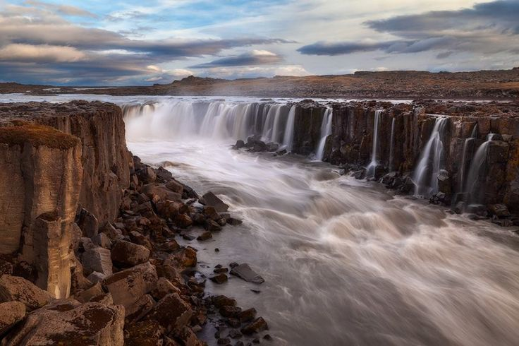 Selfoss (waterfall)  © Ron Coscorrosa @ photos.coscorrosa.com — in Iceland.