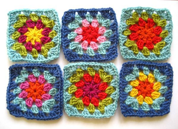 """I love making Granny Squares. There's just something about creating little stacks of them that is hugely satisfying. They are versatile, and easy for beginners to learn because the basic stitches and method of working """"in the round"""" are simple..."""