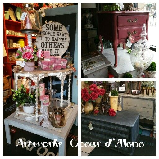 Spring Has Arrived At Artworks Coeur Du0027Alene. Specializing In Hand Painted  Furniture And