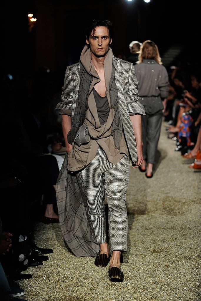 Comfort and chaos. Please and Thank you. Haider Ackermann Spring 2011