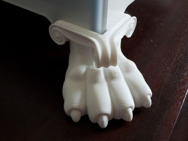 3D Printer Feet by SavageRodent - Thingiverse