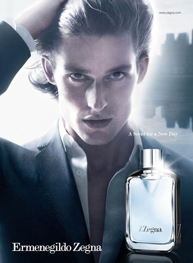 Dutch Model Wouter Peelen at New York Model  by David Sims for the Z Zegna Fragrance Spring Summer 2012 Campaign