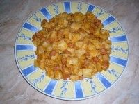 Nudle s brambory (rychlý oběd)