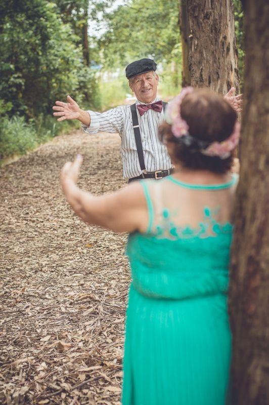 Bodas de ouro: ensaio fotográfico no Parque Natural Chico Mendes