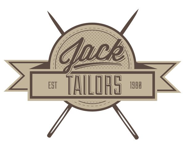 Jack Tailors Rebrand by Samuel Pillidge, via Behance