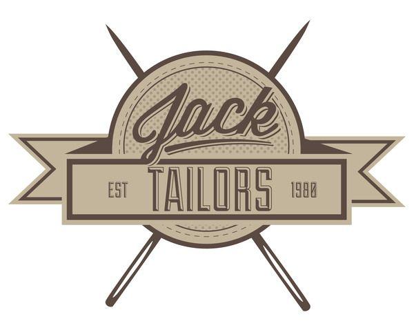 Jack Tailors Rebrand by Samuel Pillidge, via Behance
